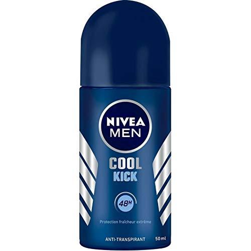 Nivéa - For Men - Déodorant Bille Cool Kick 50Ml - Lot De 4 - Livraison Gratuite