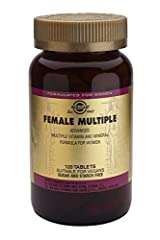 PREMIUM DIETARY SUPPLEMENT: Solgar's Female Multiple tablets are one of Solgars premium-quality women's health products ADVANCED FORMULA: Solgar Female Mutiple tablets provide an advanced phytonutrient multiple vitamin, mineral and herbal formula mad...