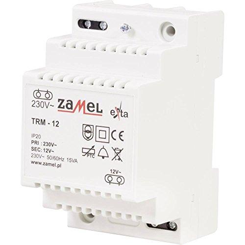 ZAMEL TRM-12 bel-transformator 12 V/AC 1.25 A