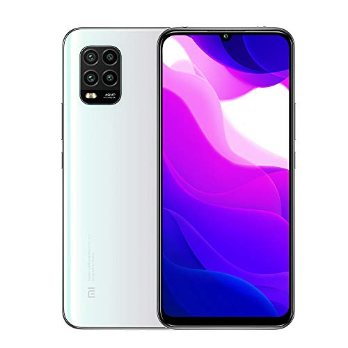 Xiaomi Mi 10 Lite 5G Smartphone 6GB 128GB 6.57'' AMOLED 48MP Quad-cámara 4160mAh (Typical) NFC Blanco [español versión]