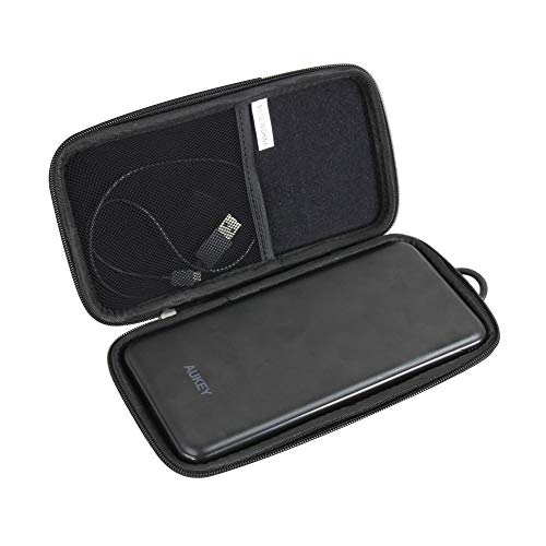 Hermitshell Hard EVA Travel Case for AUKEY 20000mAh USB C Power Bank Portable Charger Slimline Type C Battery Pack