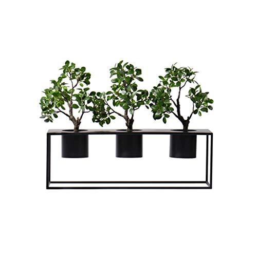 NYKK Bonsai Estilo Chino Plant Simulation eucalipto Bonsai, Planta de Tiesto Verde Restaurante Hotel Pórtico de simulación, simulación Artificial en Maceta Hierba Árbol bonsái Artificial