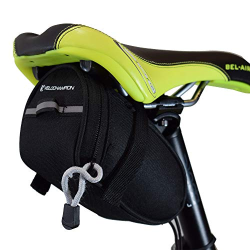 VeloChampion borsello sottosella Speed, Nero - Speed Bike Seat Pack in Black