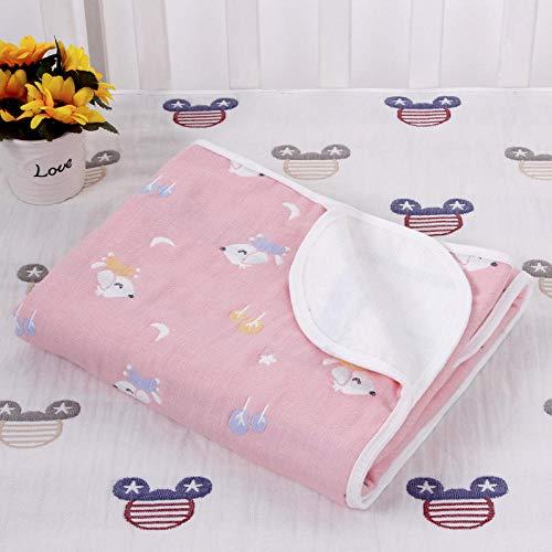 Mullvulling, waterdicht, wasbaar, voor pasgeborenen, katoen, ademend, urine, matras. 200x150cm A11