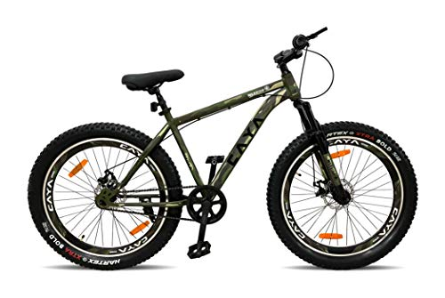 Ampa Cycle for Adults with Front Shocker and Dual Disc Brakes Semi Fat...