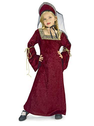Disfraz de Lady Medieval para nia