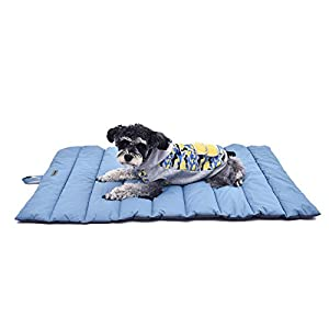Suhaco Dog Cat Bed Mattress Large Waterproof Washable Pet Beds Warm Soft Portable Mat for Dogs & Cats