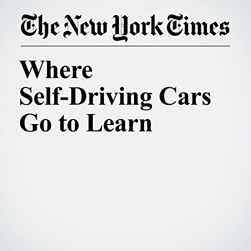 Where Self-Driving Cars Go to Learn copertina