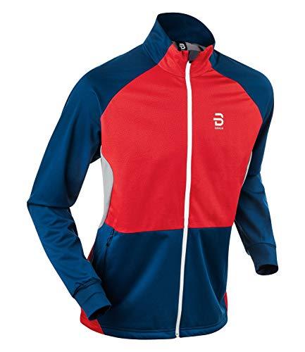 Björn Daehlie Herren Funktionsjacke Langlaufjacke Jacket Colorado 333019, Farbe:Rot, Größe:M, Artikel:-35400 Norwegian Flag