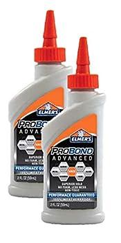 Elmer s E7502 4-Ounce Advanced ProBond Advanced Professional Multi-Surface Bond with 100-Percent Weatherproof Glue 2 Pieces