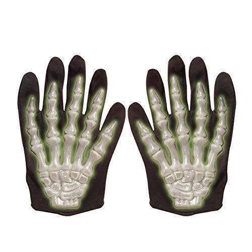 Widmann 8408G - Handschuhe Skelett, für Kinder, 3D