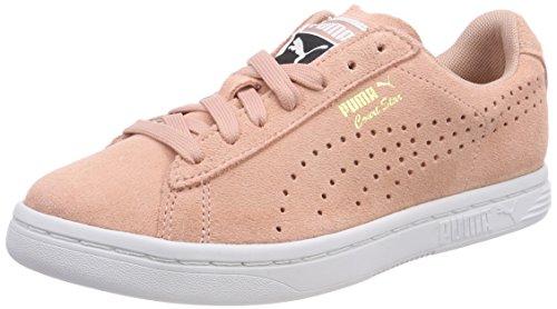 Puma Unisex-Erwachsene Court Star Suede Sneaker, Beige (Peach Beige-Gold White), 42.5 EU