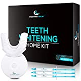 California Bright Advanced Teeth Whitening Kit with 5X LED Mouthpiece - x3 Whitening Gels, x1 Desensitizing Gel, x3 Mouth Trays, Storage Case & Shade Guide