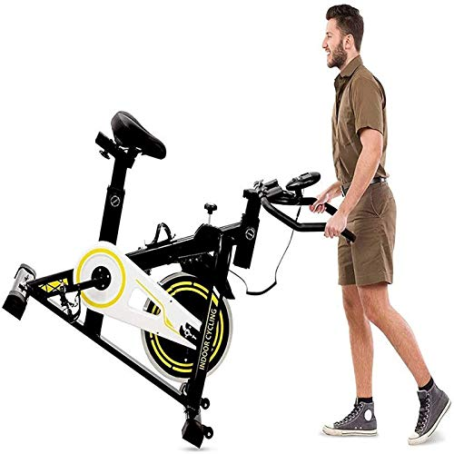 RSBCSHI Bicicletas de Hilado, Bicicletas de Ejercicio Ultra Tranquilo, reposabrazos Suaves |Soportes multifuncionales, Equipo Deportivo para la pérdida de Peso.