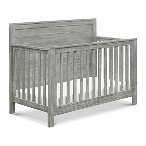 da vinci cribs DaVinci Fairway 4-in-1 Convertible Crib in Cottage Grey, Greenguard Gold Certified