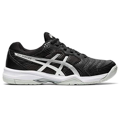 Asics Gel-Dedicate 6, Tennis Shoe Mujer, Black/White, 40.5 EU