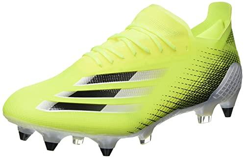 adidas X GHOSTED.1 SG, Zapatillas de fútbol Hombre, Amasol/NEGBÁS/AZUREA, 44 EU