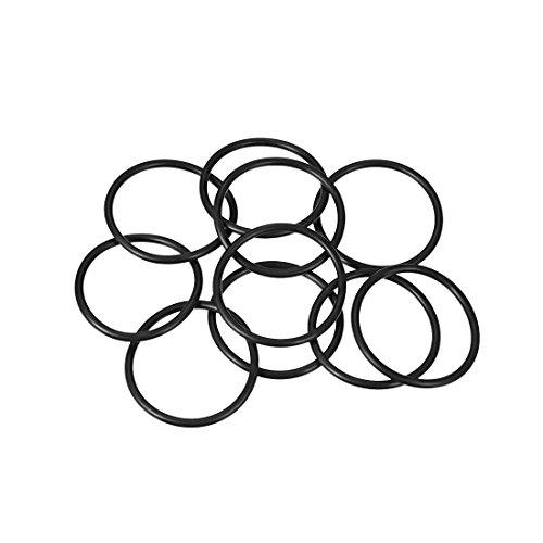 sourcing map 10pcs O-Ringe Nitrilkautschuk Gummi 31mm x 36mm x 2,5mm Dichtungsringe Dichtung DE de