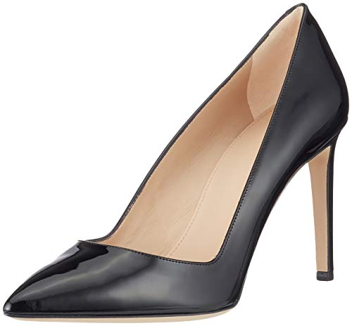 HUGO Damen Hellia-P 90 Pumps, Schwarz (Black 1), 38 EU