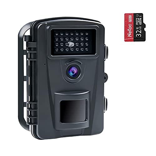 COOLIFE 16MP 1080P HD Caméra de Chasse Vitesse de...