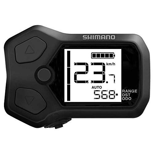 SHIMANO Steps SC-E5003 Informations-Display und Schaltereinheit schwarz/grau