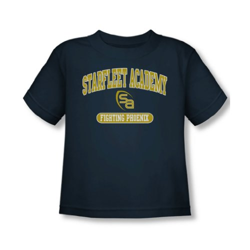 Star Trek - Toddler Lutte T-shirt dans la Marine -, 4T, Navy