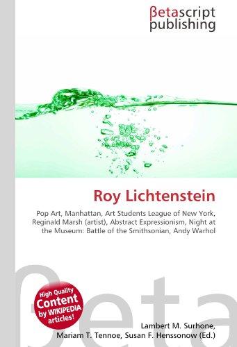 Roy Lichtenstein: Pop Art, Manhattan, Art Students League of New York, Reginald Marsh (artist), Abstract Expressionism, Night at the Museum: Battle of the Smithsonian, Andy Warhol