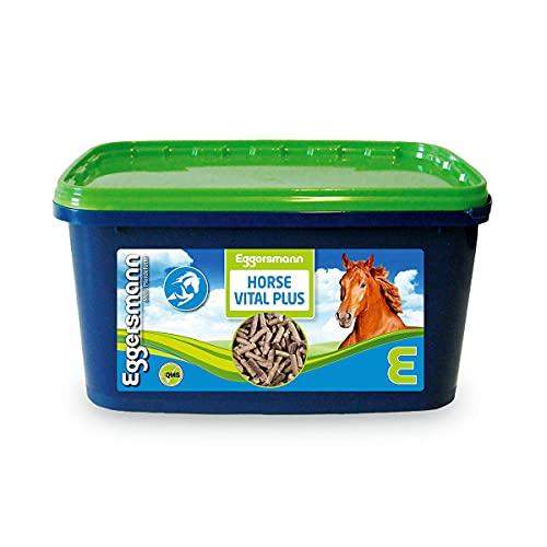 Eggersmann Horse Vital Plus – Mineralfuttermittel für Pferde Aller Art – Vitaminreiches Mineralfutter – 4 kg Eimer