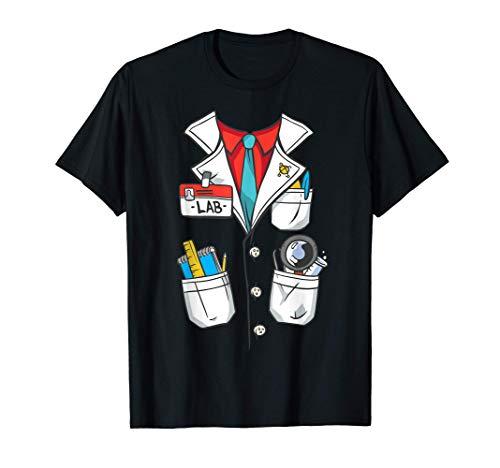 Disfraz de Halloween de cientfico o profesor de ciencias Camiseta