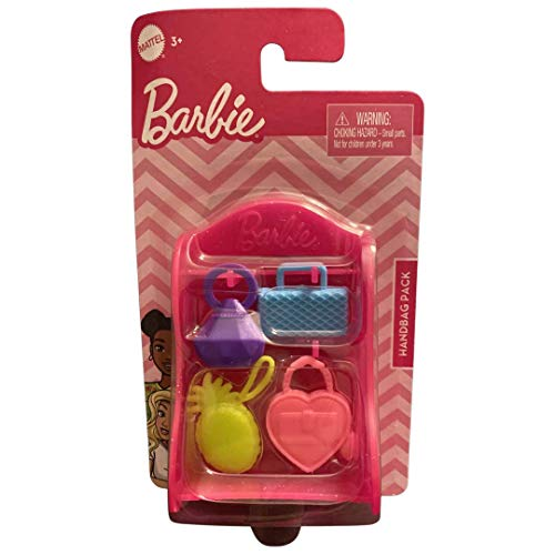 Barbie- Handbag Pack - Shelf with 4 Handbags