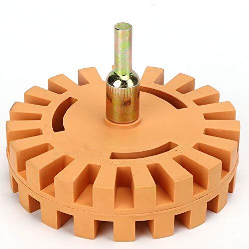 4-Zoll-Reinigungsscheibe 25 mm Durchmesser Kleberentferner Radiergummirad zum Entfernen
