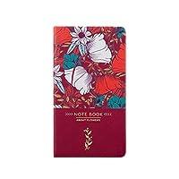 古典的な統治のハードカバーノートブックとジャーナルを執筆するメモ帳の日記はパスコード上品PUレザーハードカバーライニングダイアリー3.7'x7.0 'プレミアム厚紙 (Color : B)