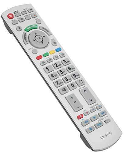 ALLIMITY RMD1170 Fernbedienung Ersatz für Panasonic Bravia Plasma TV TX-L32ETF52 TX-L37D25E TX-L42DT50B TX-L42DT50Y TX-L42ET50B TX-P42GTF32J TX-P55VT50T TX-P65STW50 TX-L47ET50Y TX-L47WT50B