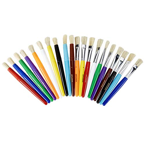 Artlicious 20 Chubby Wubby Kids' Paint Brush Set