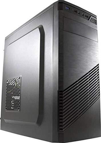 LC-7037B Midi-Tower Black Computer Case–Computer Cases (Midi-Tower, PC, Metal, Plastic, ATX, Micro-ATX, Mini-ITX, Black, 14.5cm)