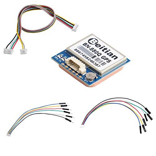 DIYmalls BN-880Q GPS Module Glonass 4M Flash for Arduino Pixhawk Flight Control
