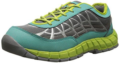 Caterpillar Women's Connexion Steel Toe Work Shoe, Green, 6 M US