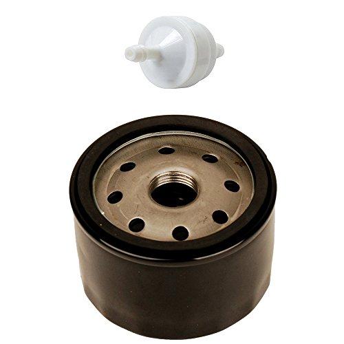 OuyFilters 492932 492056 492932S 695396 696854 AM125424 Ölfilter mit 394358 394358S AM38708 Kraftstofffilter für Briggs & Stratton Rasenmäher