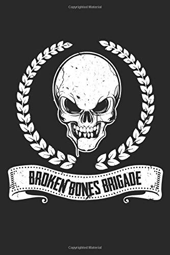 Skateboard Broken Bones Brigade: Graph Paper Skateboard Broken Bones Brigade / Journal Gift - Large ( 6 x 9 inches ) - 120 Pages || Softcover