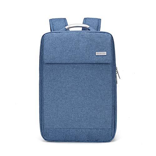 Heren Business rugzak rugzak tas laptop rugzak casual reistas, 41 × 29 × 11 cm, blauw