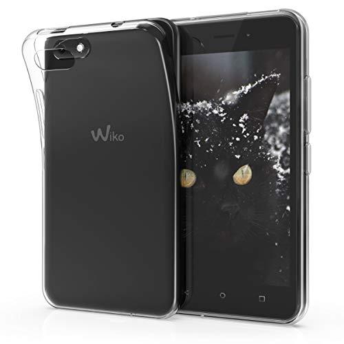 kwmobile Hülle kompatibel mit Wiko Sunny 3 - Silikon Handyhülle transparent - Handy Hülle in Transparent