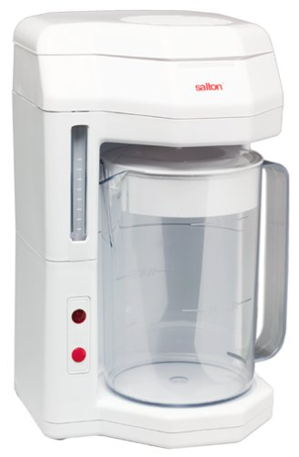 Salton 2-Liter Iced Tea Maker, White
