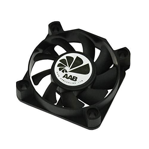 AABCOOLING Fan 5 - Un Silencioso Ventilador PC de la Serie Económica, Fan 50mm, Ventilador Externo Portatil, Ventilador 5cm, Base Ventilador, 11 m3/h, 3000 RPM 21 dB (A)