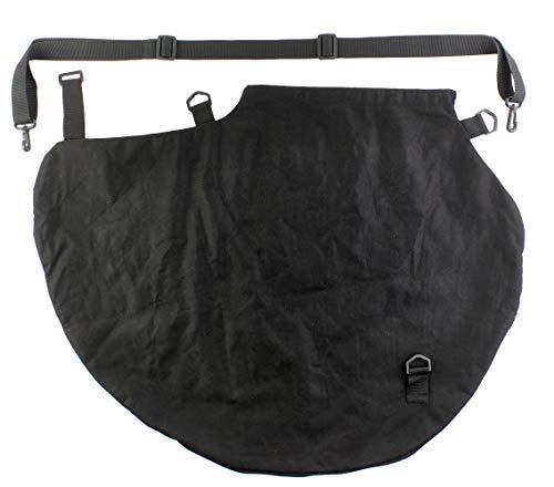 Ryobi Fangsack RAC364 (Sack für Laubsauger, Farbe schwarz, einfache Montage am Laubgebläse, mit Tragegurt) 5132002995