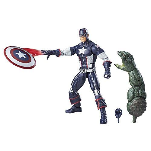 Marvel Figura del Capitán América Guerra Secreta de la Serie Legends, 15,24 cm