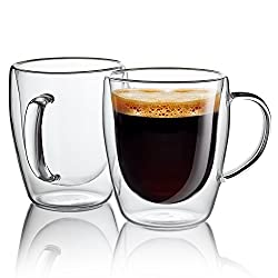 These can be a bit fragile for a clumsy guy like me, BUT the Jacobi will keep your coffee HOT. PRO TIP: PRE HEAT the mug with hot water while the coffee is brewing and your coffee will be hotter longer.