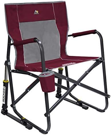 Best GCI Outdoor Freestyle Rocker Portable Folding Rocking Chair, Cinnamon