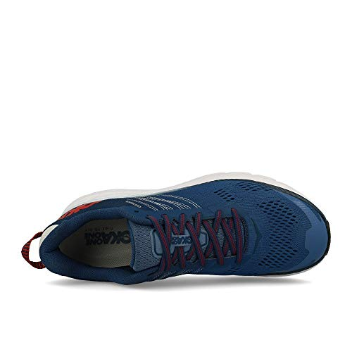 HOKA ONE ONE Mens Clifton 6 Ensign Blue/Plein Air Running Shoe - 8