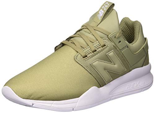 New Balance Damen 247v2 Sneaker, Grün (Covert Green/Thistle Ob), 38 EU