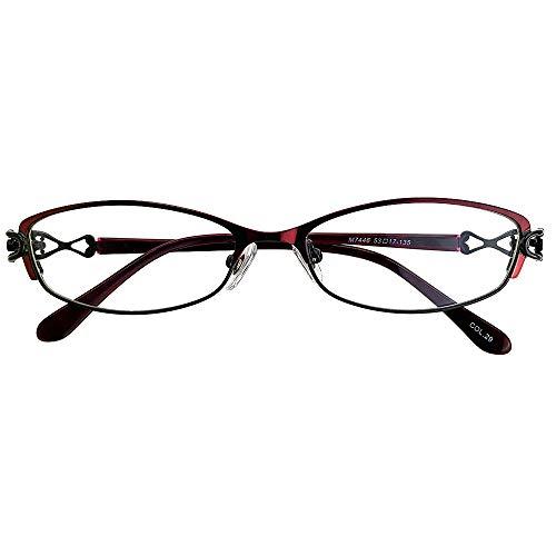 SHOWA ブルーライトカット 中近両用メガネ アンティークデザイン (レディースセット) 全額返金保証 ブルーライト カット 老眼鏡 おしゃれ レディース 女性 メガネ 眼鏡 パソコン PC メガネ リーディンググラス (瞳孔間距離:66mm〜68mm,